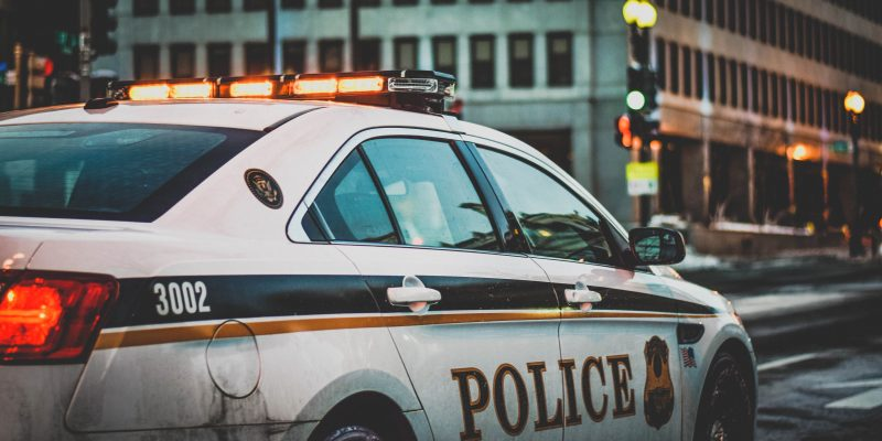 criminal defense-cop car